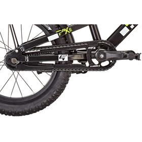 s'cool faXe 16 alloy Kinder black/lemon matt